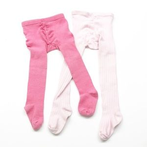 Set of sock tight legging pants for girls